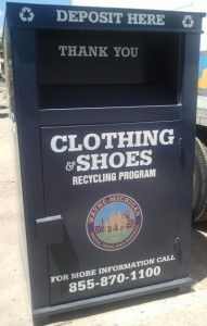 A City Recyclers drop bin